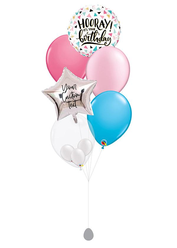 [BOUQUET] Customised Birthday Hooray