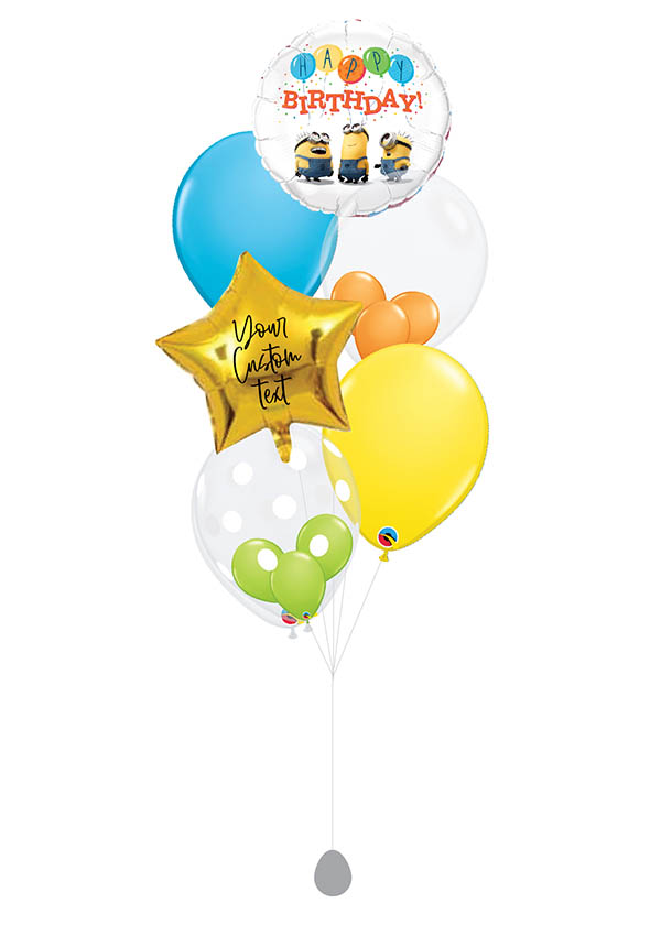[BOUQUET] Customised Birthday Minions