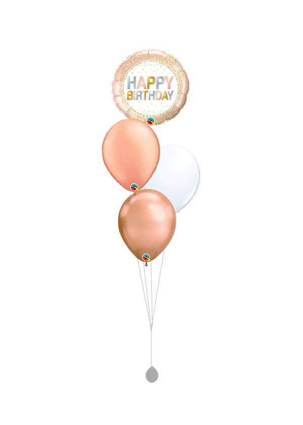 [BOUQUET] Birthday Metallic Dots Bouquet