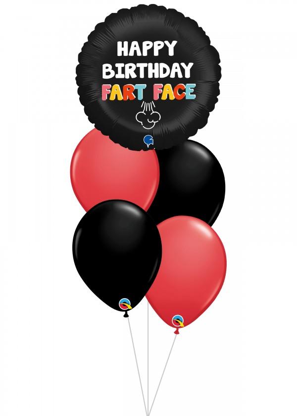 [BOUQUET] Birthday Happy Birthday Fart Face Bouquet