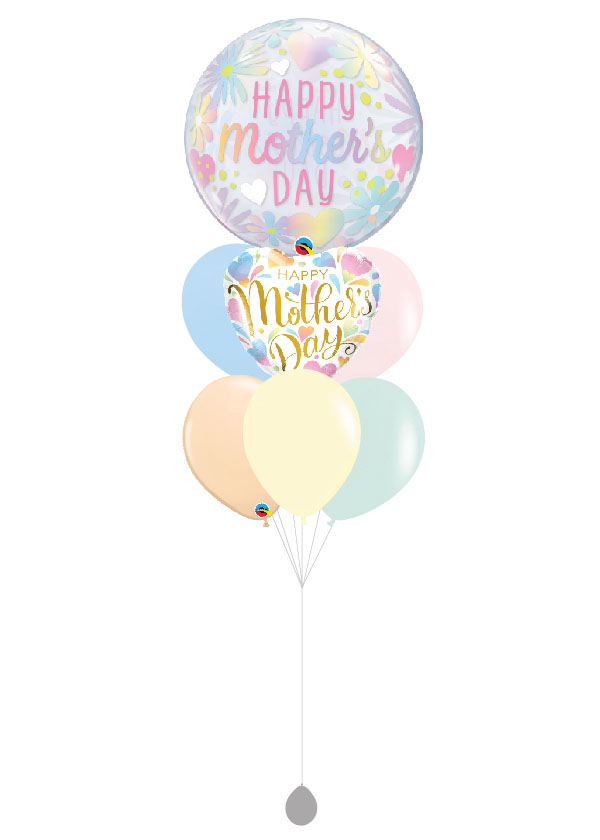 [BOUQUET] Pastel Floral Happy Mother's Day