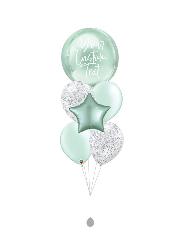 """[CUSTOMISED ORBZ] 16"""" Mint Green Bouquet"""