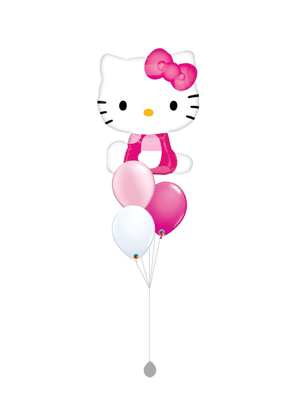 [BOUQUET] Hello Kitty Pink Balloon Bouquet