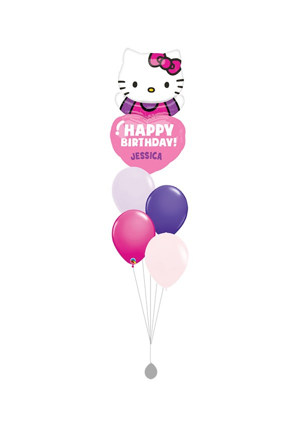 [BOUQUET] Hello Kitty Bday Balloon Bouquet
