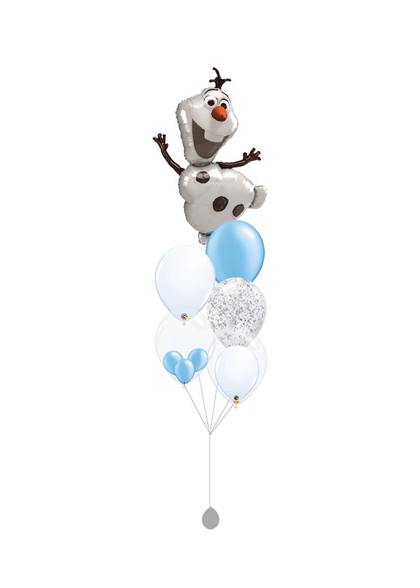 [BOUQUET] Frozen Olaf Balloon Bouquet