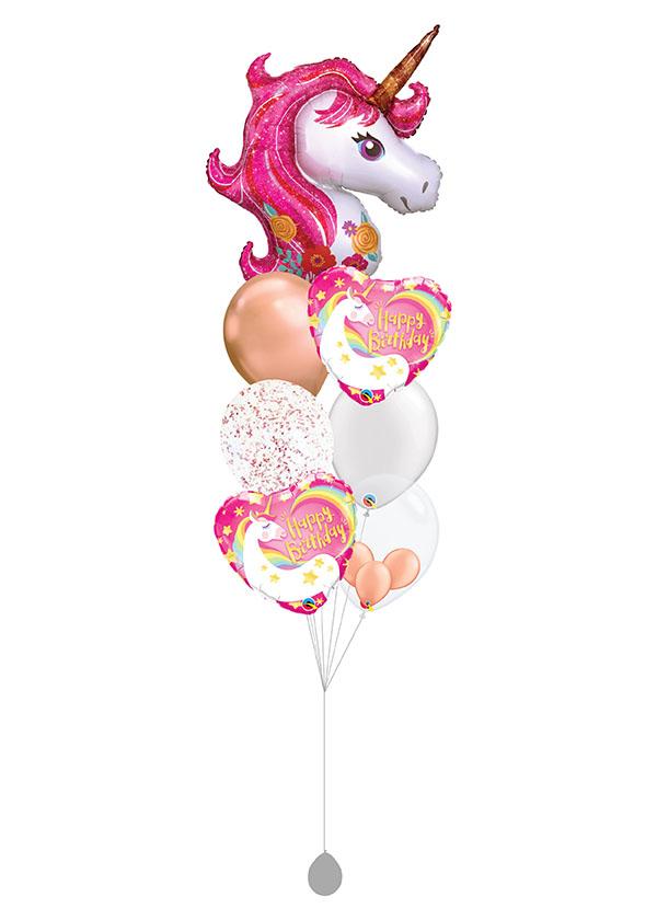[BOUQUET] Magical Unicorn Balloon Bouquet
