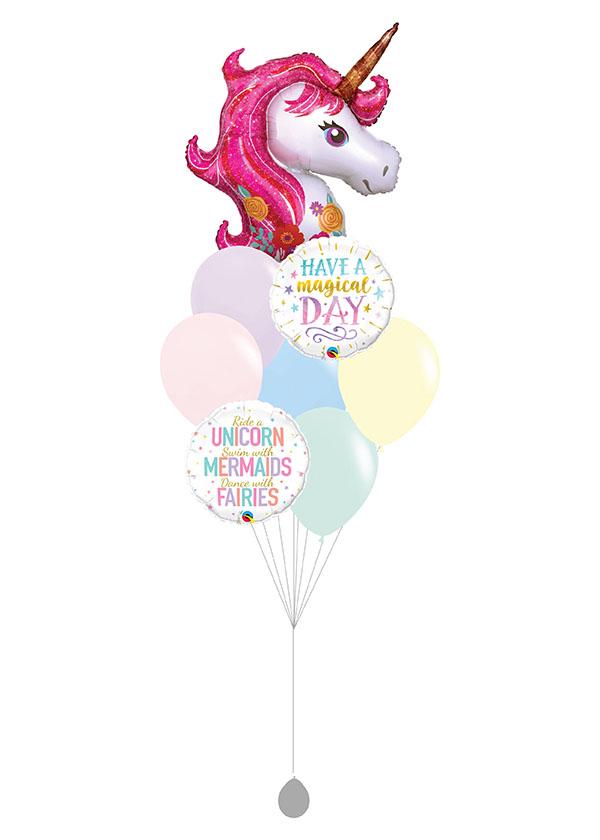 [BOUQUET] Magical Unicorn Balloon Bouquet II