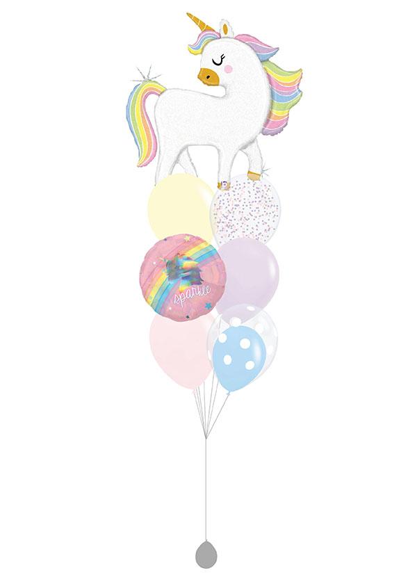 [BOUQUET] Glitter Pastel Unicorn