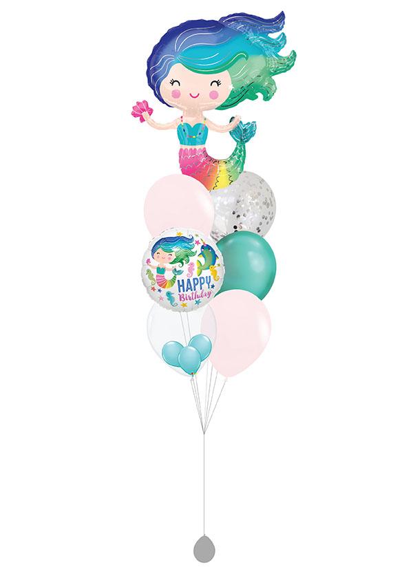 [BOUQUET] Birthday Colourful Mermaid