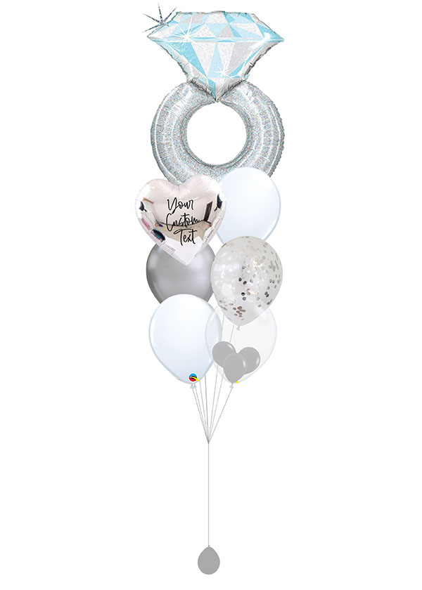 [BOUQUET] Customised Platinum Wedding Ring