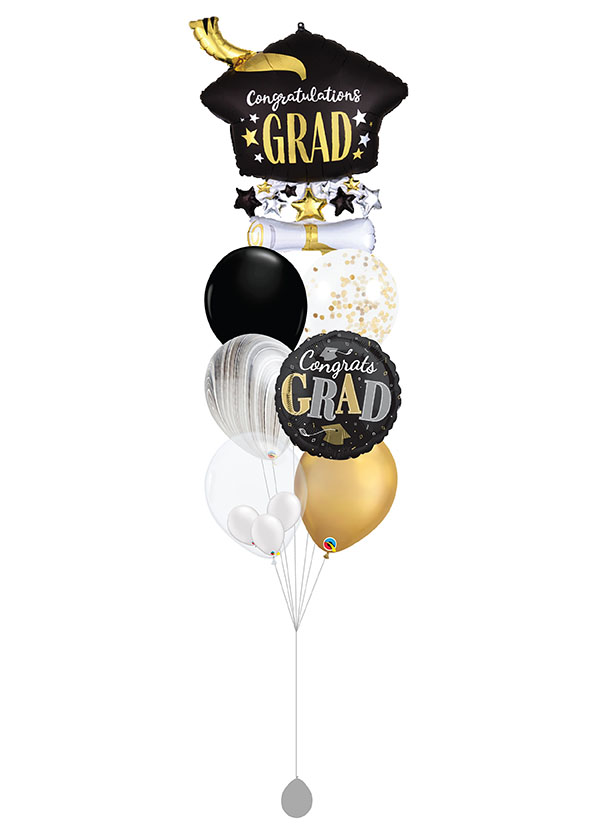 [BOUQUET] Graduation Cap & Diploma