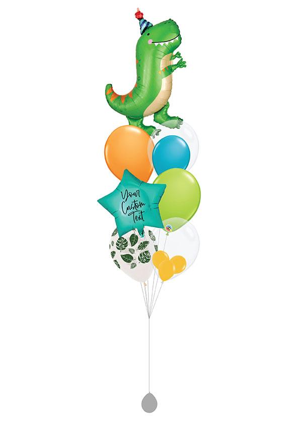 [BOUQUET] Customised Birthday Dinomite T-Rex