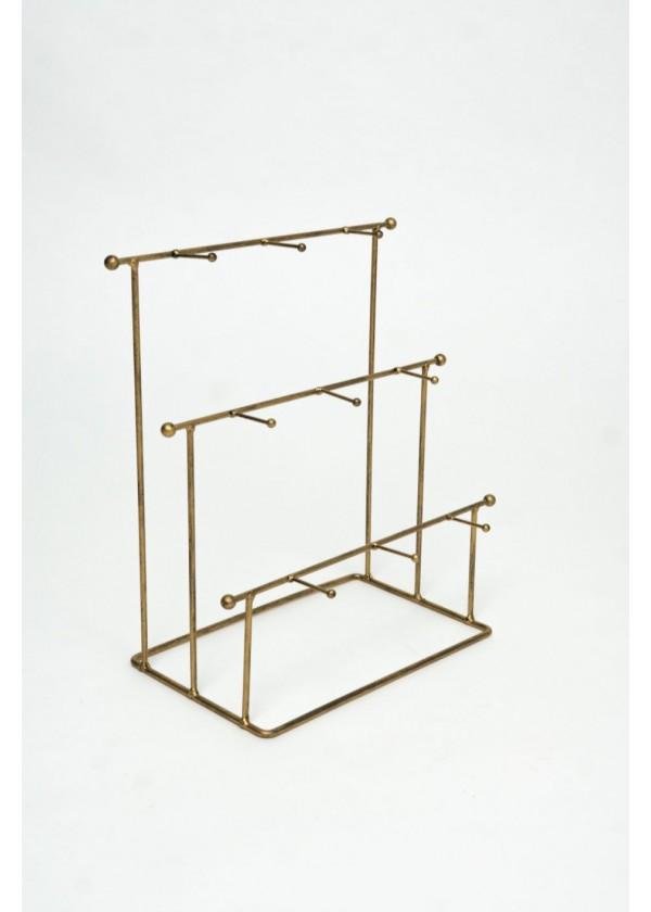 [RENTAL] 3-Tier Gold Donut Stand $12.00