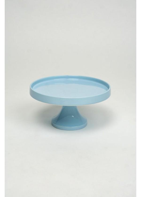 [RENTAL] Pastel Blue Ceramic Cake Stand $8.00