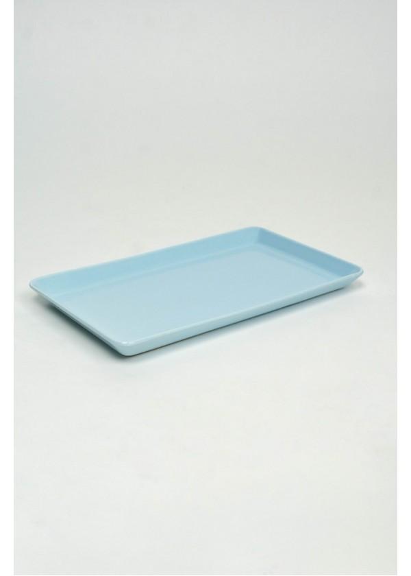 [RENTAL] Pastel Blue Ceramic Plate $6.00