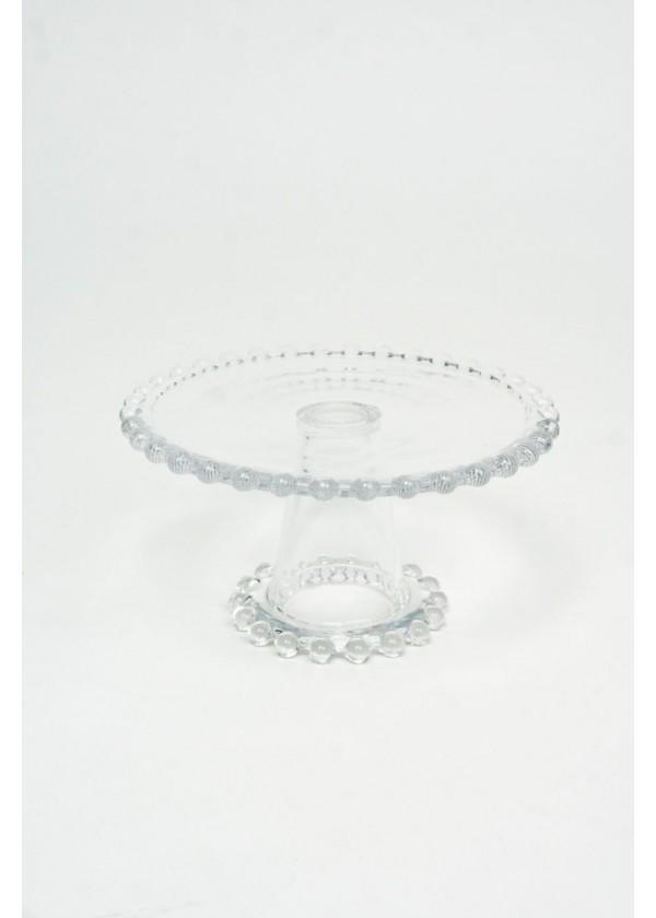 [RENTAL] Crystal Dessert Stand $8.00