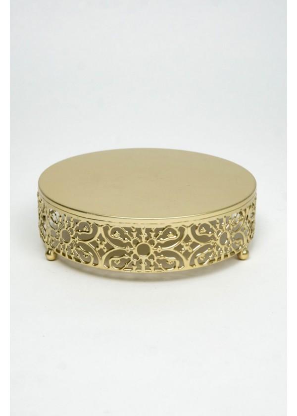 [RENTAL] Elegant Gold Cake Base $6.00