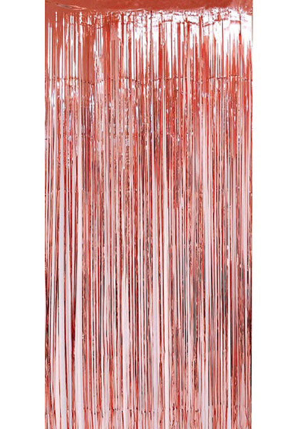 Tinsel Curtain [1m x 2m] Rose Gold