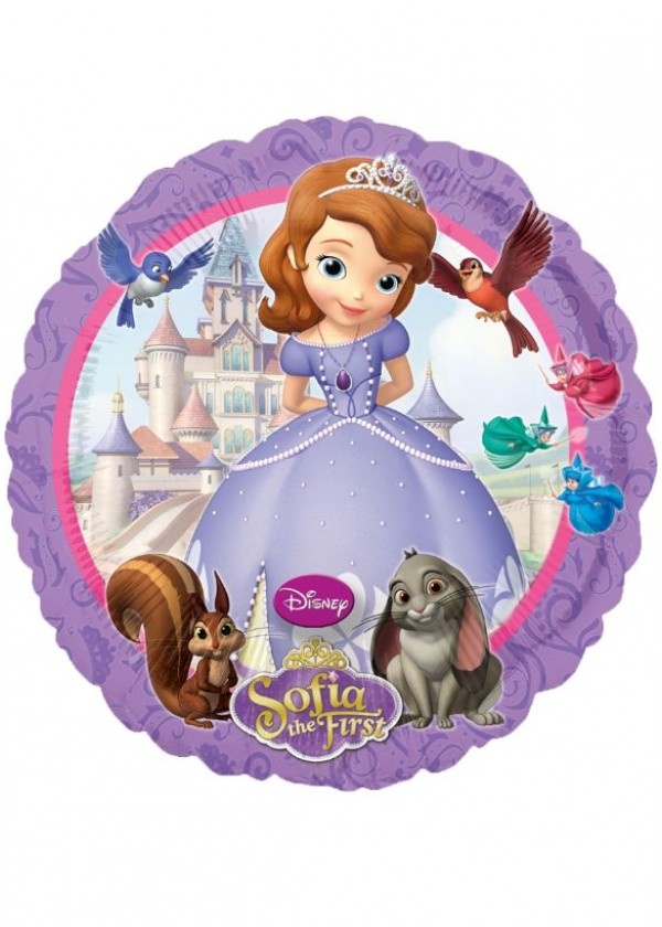 """18"""" Round Sofia the First"""