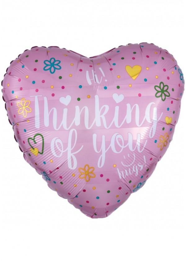 """18"""" Heart LOVE Thinking of You"""