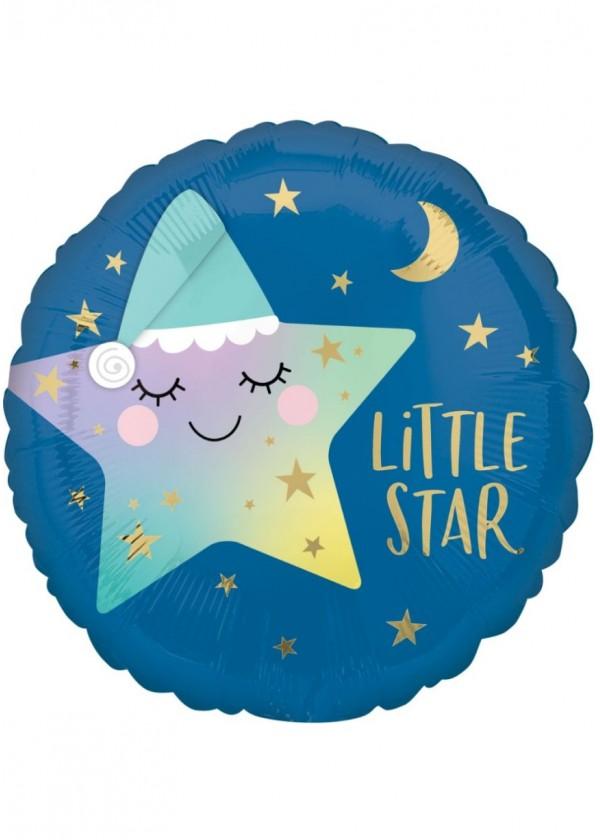 """17"""" Round Little Star"""