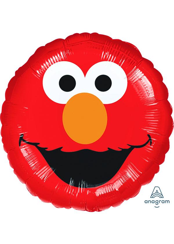 """17"""" Round Elmo Smiles"""