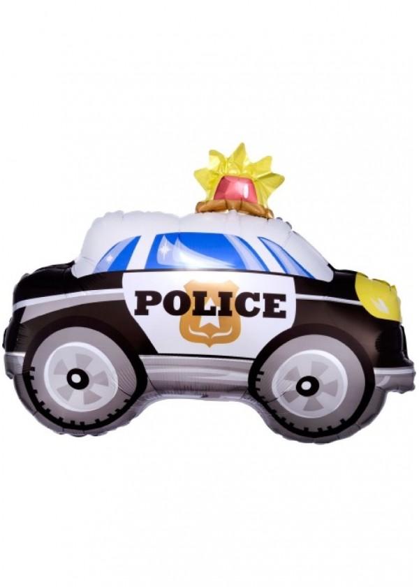 """JR Shape Police Car 18"""" x 24"""""""