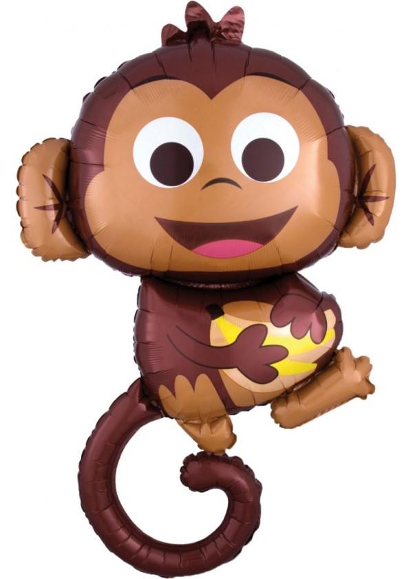 "[Supershape] Happy Monkey 25"" x 36"""