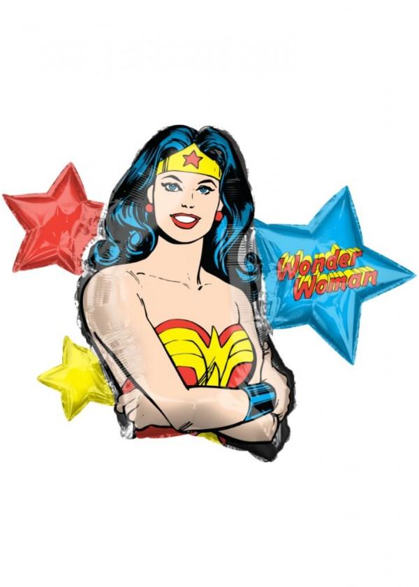 "[Supershape] Shape DC Wonder Woman 33"" x 26"""