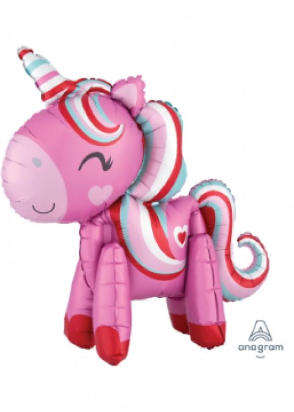Multi-Balloon Magical Love Unicorn