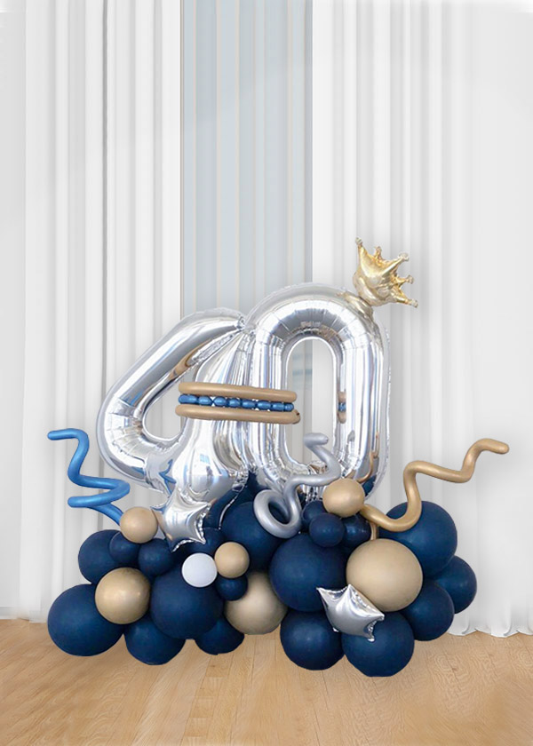 [Organic Balloon Structure] Little Royal Blue Prince
