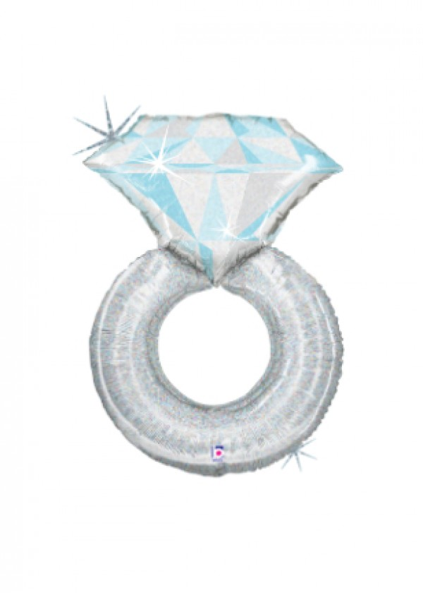 "38"" Platinum Wedding Ring"