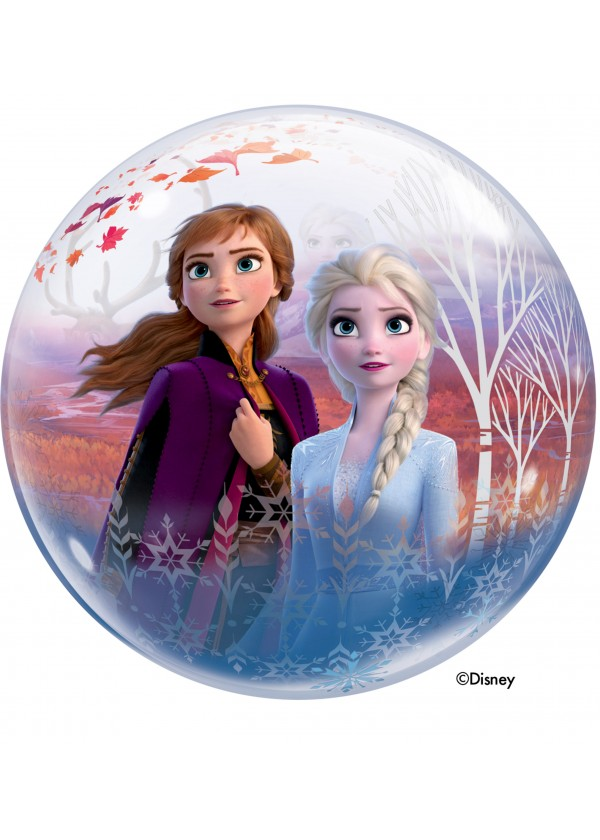 "22"" Disney Frozen Bubble Balloon"