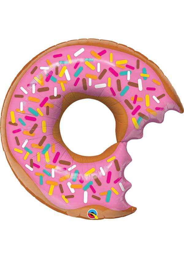 """36"""" Bit Donut & Sprinkles [Suprafoil]"""