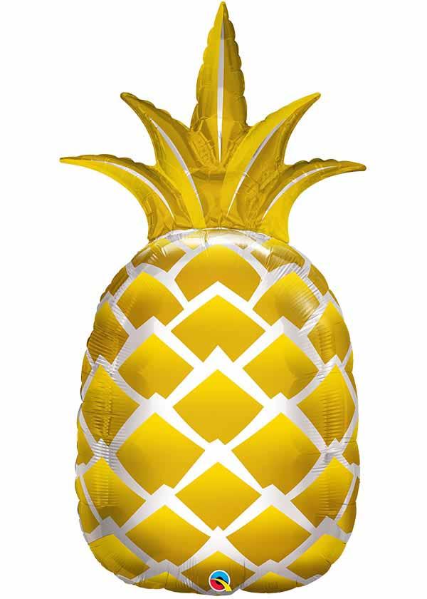 """44"""" Shape Golden Pineapple"""