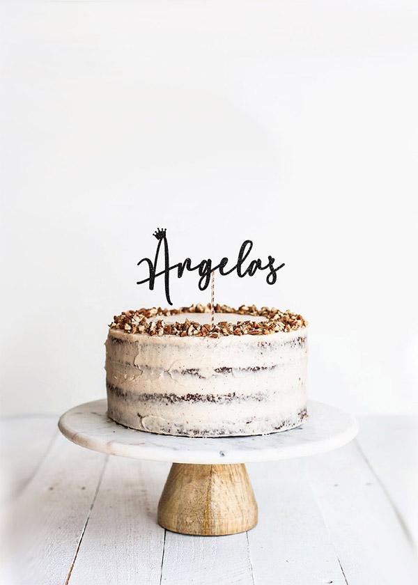 Cake Topper *NAME*