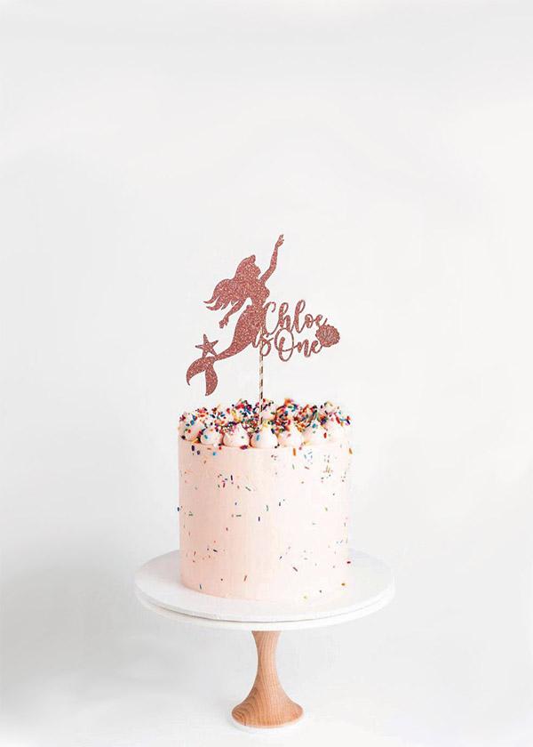 Cake Topper Mermaid