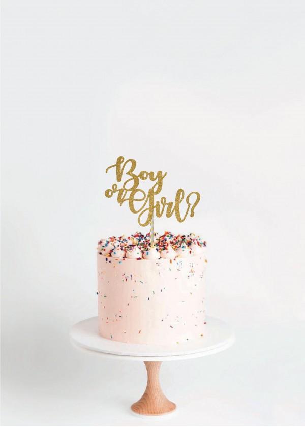 Cake Topper Boy or Girl?