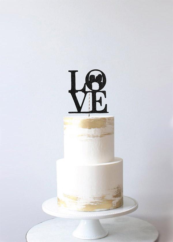 Cake Topper LOVE Couple