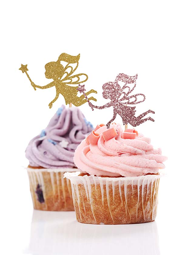 Cupcake Topper Fairies [Set of 5]