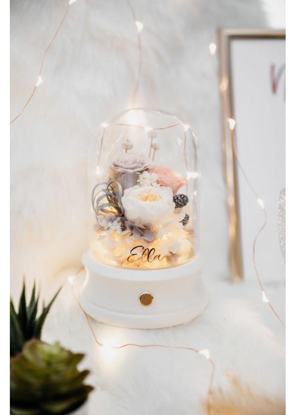 Bluetooth Speaker Flower Dome [White]