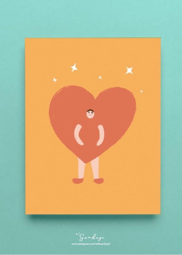 [CARD] Big Heart Man