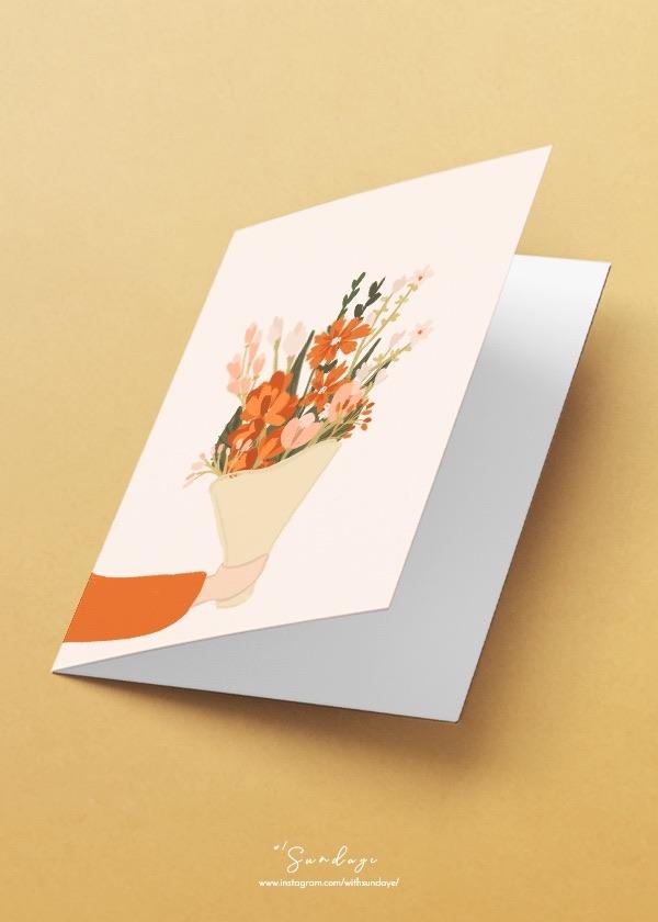 [CARD] Flower Bouquet