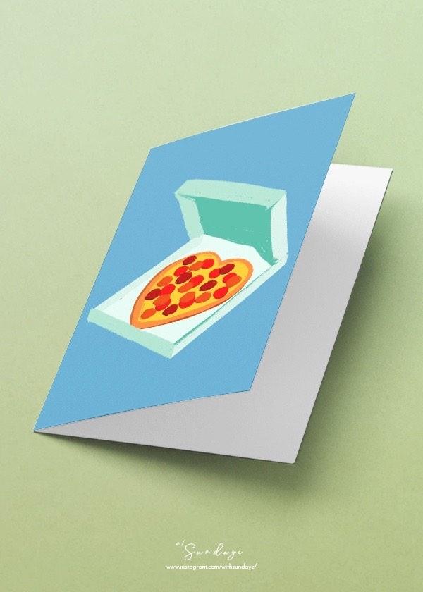 [CARD] Hearty Pizza