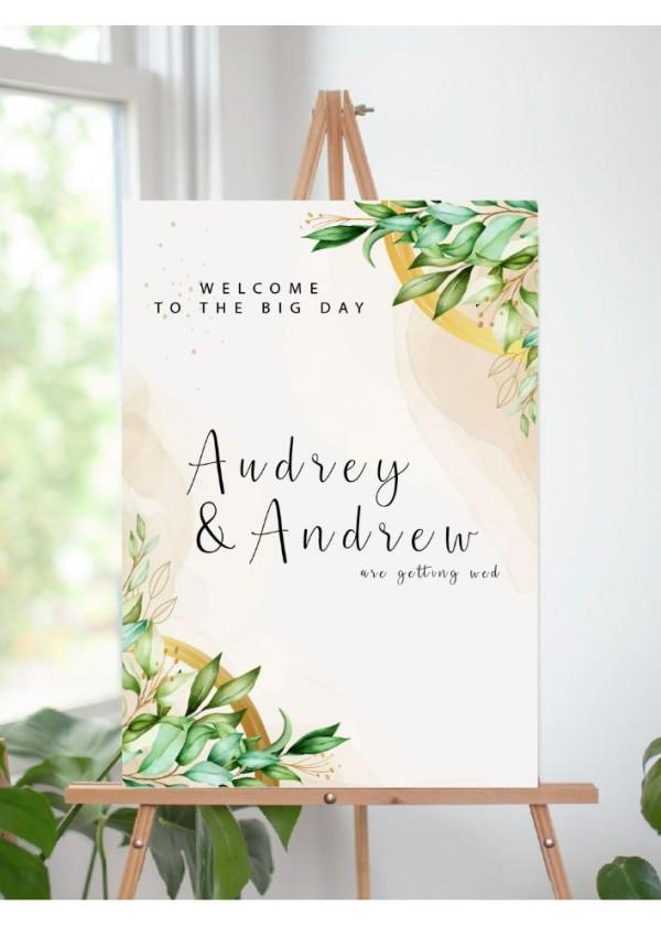 Wedding Signage (Design 1)